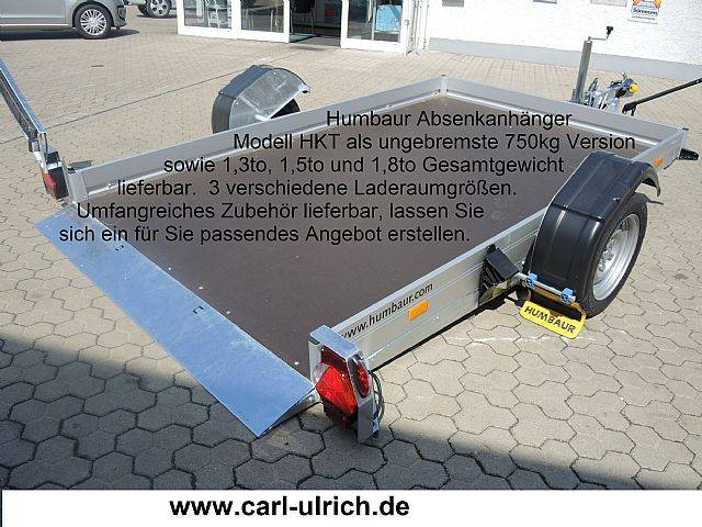 Humbaur HKT133117s Absenkanhänger Fahrzeugtransporter