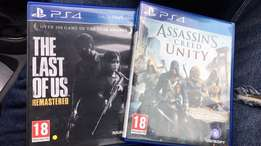 The last of us and Assassins Creed Unity