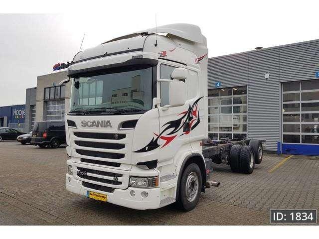 Scania R500 Highline, Euro 5 - 2013