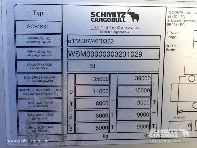 Schmitz Cargobull Semitrailer Curtainsider Standard - 2015