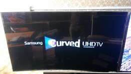 "Pay On Delivery - UK Samsung 55"" UHD 4K Smart Curved TV with Warranty"