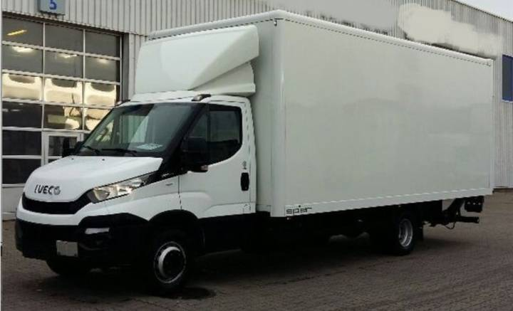 Iveco Daily 70C17/P A8/ KOFFER - 2016