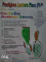 One-on-One Tutoring at affordable rates