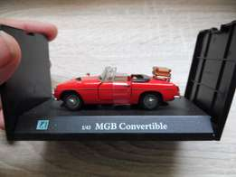 "Toy Car model "" MGB Convertible """