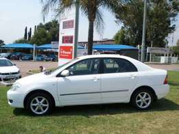 toyota corolla 1.6 for sale R29000