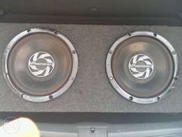 Pioneer 12 inch Svc Subs