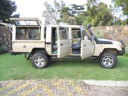 Land Cruiser 70 4.5 EFI Petrol Double Cab (2008)