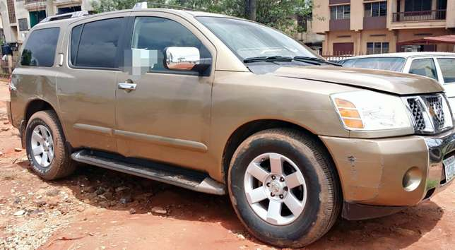 EXCELLENTLY Neat, First Body, Factory Fitted Chilling Ac Nissan Armada Onitsha North - image 3