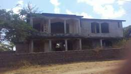 UNFINISHED 5 bedroom SEAVIEW VILLA with plan for a pool and Sq's near