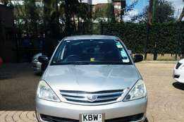 2006 Asian owner Toyota allion fielder