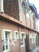 affordable 2bedroom flat with 2toilets at ogba ikeja.now 400k