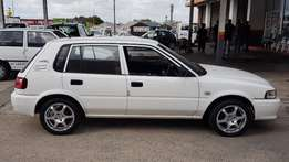 2004 Toyota Tazz 130 5 SPEED for sale 18,000