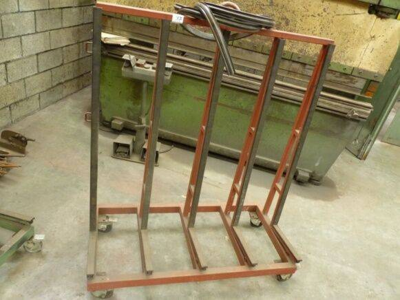 Sale on wheels easel hand pallet truck for  by auction