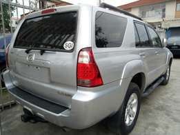 2006 model Toyota 4runner clean tokunbo