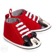 Baby Mickey Mouse Shoes
