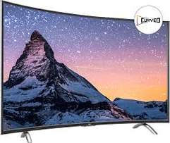 48inch tcl smart curved tv