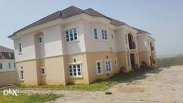 Lovely 5 units of 3 bed room flat with bq for sale at abuja