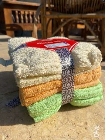 Soft towels with magnificent colors