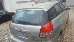Registered Toyota Matrix