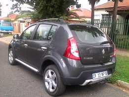 2013 Renault Sandero Stepway 1.6, with Km47,000.