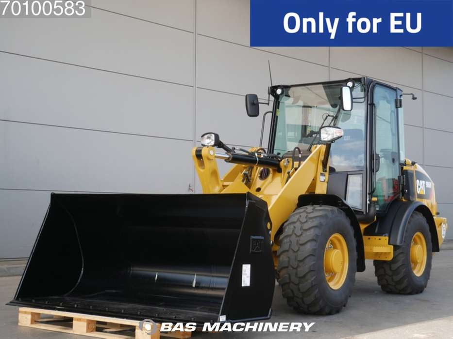 Caterpillar 906 M Bucket and forks - ride controle - warranty - 2019