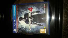 Ps4 games uncharted 4/dishonoured 2/deus ex-mankind divided