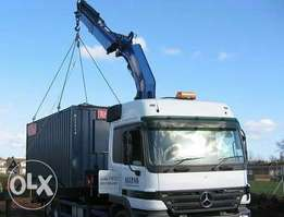 Container sales, loading and offloading services