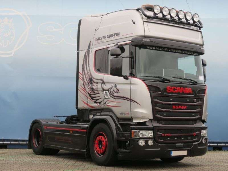 Scania R730 Silver Griffin Hydro PTO / Leasing - 2016 - image 2