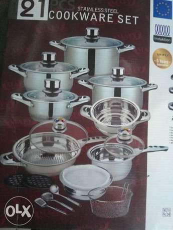 Mafy Stainless Steel cooking dinner set Ruaka - image 1