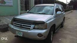 A Clean And Used Toyota Highlander For Sale