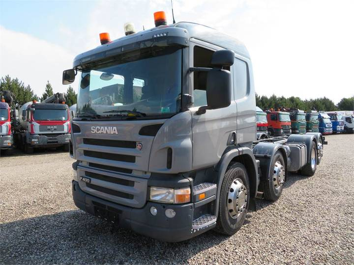 Scania P400 8x2*6 Adr Chassis Euro 5 - 2010