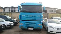 Super clean Tokunbo Truck DAF 95.380 XF 2005 model