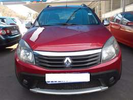 2012 Renault Sandero StepAway SUV 74,529 km 1.6 Manual Gear, Cloth Up