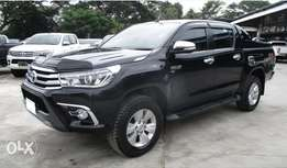 Black Hilux double cab: automatic transmission: We do hire purchase