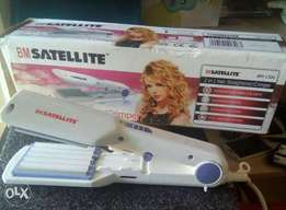 2 in 1 hair straightener and crimperte