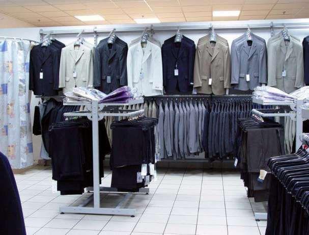 Продам торгове обладнання бу (стелажі торгові) з магазина одягу ... 25580ac94edc7