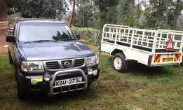 Pickup transport services in and outside kenya