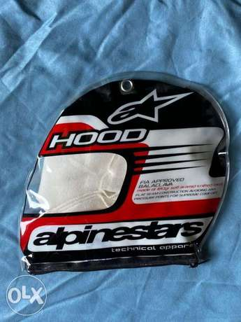 Alpinestar FIA approved Racing balaclava fire proof