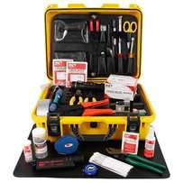 Universal Fiber Optic Fusion Splicing Tool Kit Slitter Stripper