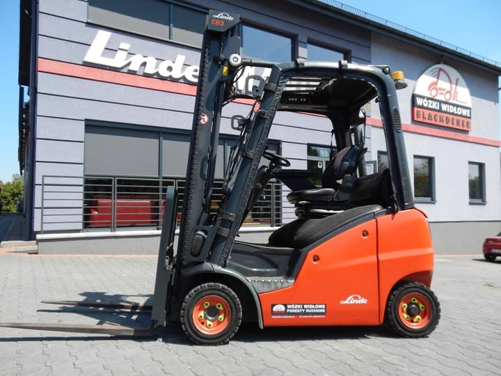 Linde H16D-01 Side shift - 2013