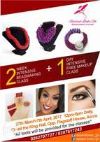 Beadmaking classes plus free makeup class.Starts 27th march