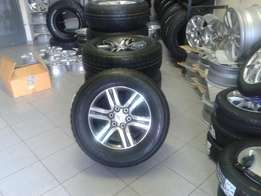 17 inch New Shape Toyota Fortune Mags With New 265/65/R17 Bridgestone
