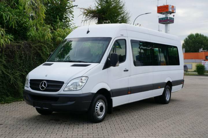 Mercedes-Benz Sprinter 513 Maxi Klima 23 Platz 8 stück Vorhand - 2012