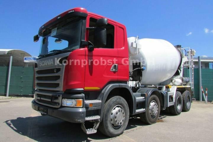 Scania G 400 8x4 BB - INTERMIX 9 m³ - Nr: 331 - 2014