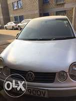 Selling VW Polo 2003 model in a good mechanical condition.