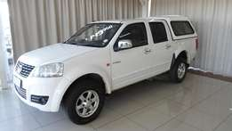 GWM Steed5 2.0VGT Double Cab with 60 400KM for only R149900