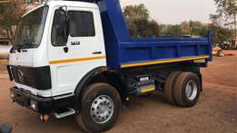 1985 Mercedes Benz 1413 6m3 Tipper for sale