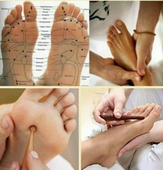 Массаж стопы ног: обучение правилам выполнения