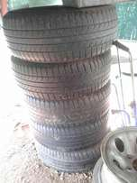 5 Tyres for sale