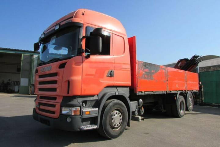 Scania R 440 6x2 - KRAN FALTBAR ATLAS 165.2 Nr.: 301 - 2008
